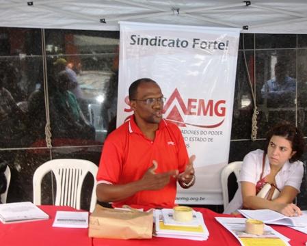 O coordenador sindical Célio Izidoro Rosa