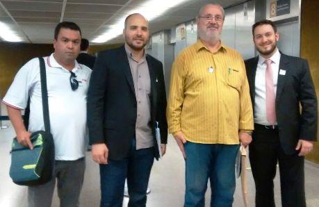 261115 Equipe Sindicato em Brasília