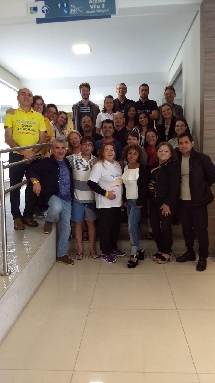 SITRAEMG participa de reunião em Florianópolis sobre assédio moral