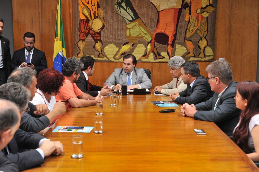 Reunião com Rodrigo Maia