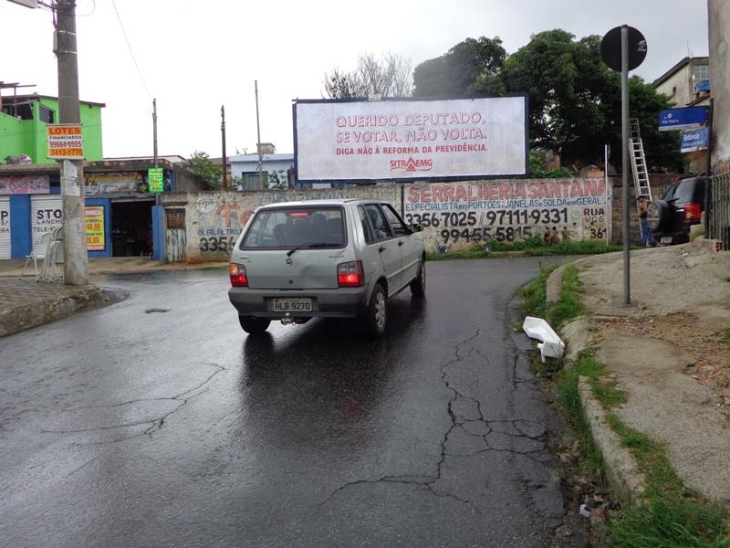CONTAGEM Rua Rio Retiro ao lado da Sub-Prefeitura
