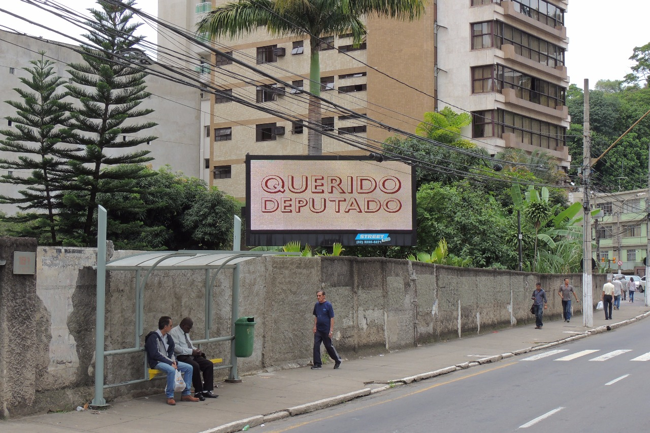Avenida Rio Branco, em Juiz de Fora