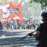 14-12-17 Buenos Aires Marcha al Congreso Nacional en oposición a la reforma previsional. Foto: Luciano Thieberger.