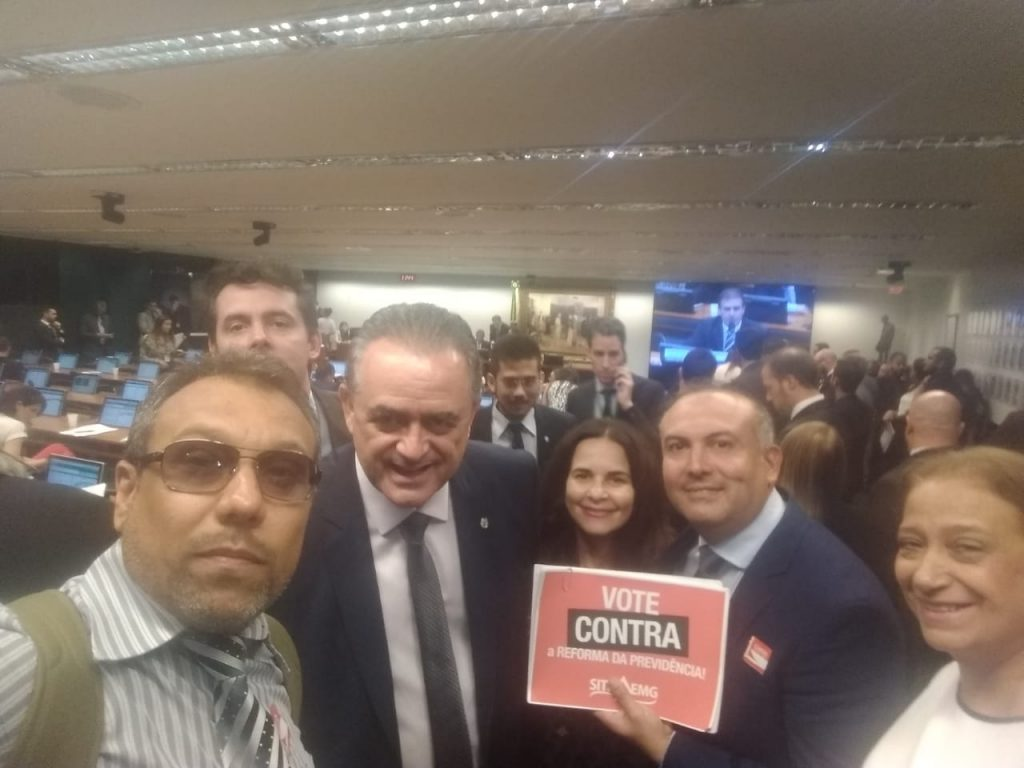 Dep Luiz Flavio Gomes, Fernando Neves, Wesley, Flotilde, Magnus e Tamisa