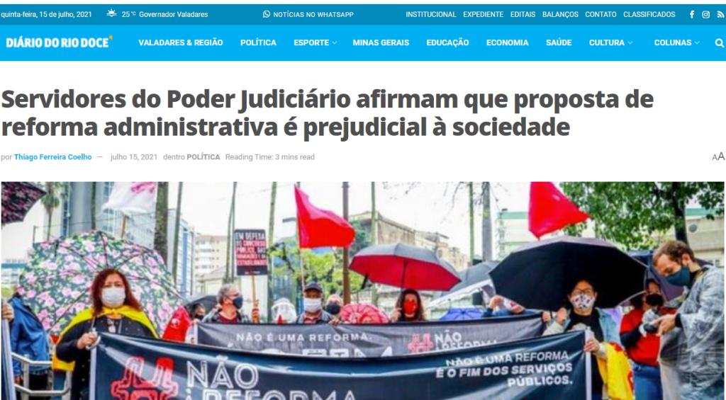 210715 Diario do Rio Doce